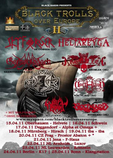 Black Trolls over Europe II, Nothgard, Lady_Metal, Black Bards