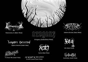 Sick Midsummer, Lady_Metal, Flammensturm, Arroganz, Svarta, Legions Descend, As God Created, Ketelens Brukke, XES,