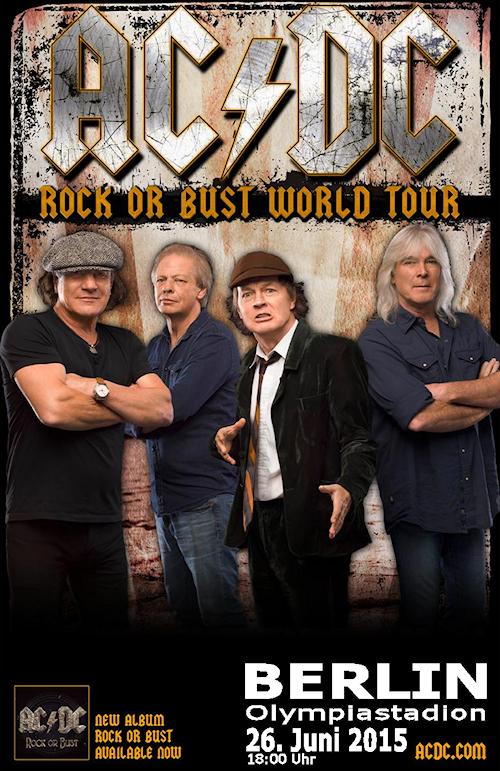 Lady Metal Webzine Acdc Rock Or Bust World Tour 2015 Berlin