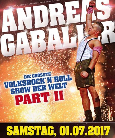 Lady Metal Webzine Andreas Gabalier Muenchen 0717