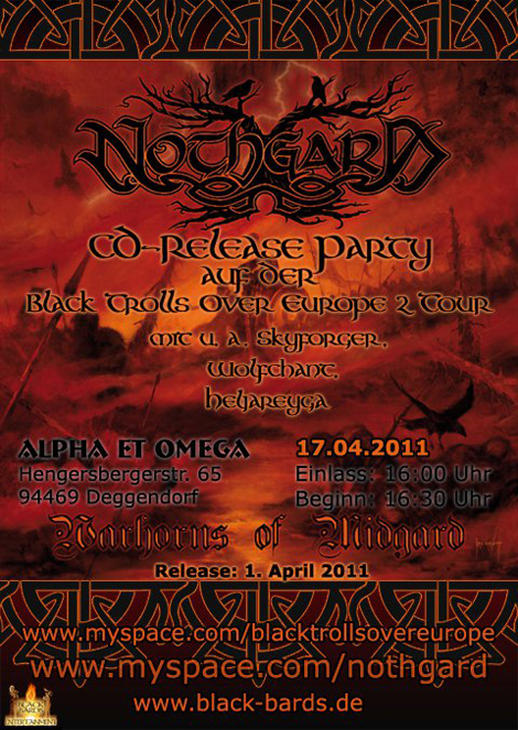 Nothgard, Black Trolls Over Europe II, Black Bards, Lady_Metal